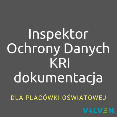 Inspektor Ochrony Danych + KRI + dokumentacja